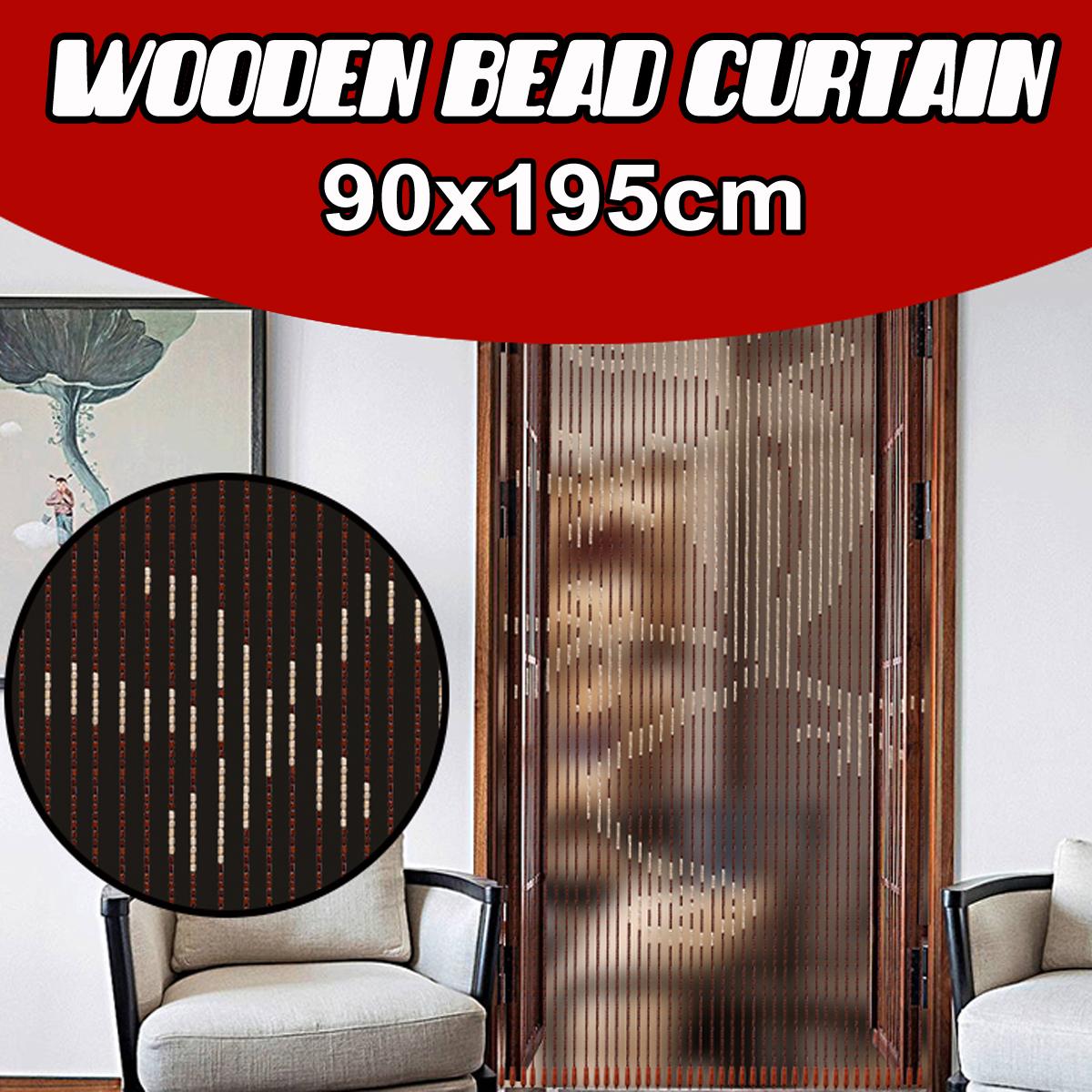 Hanging Beaded Curtain String Room Door Window Curtains Tassel Fly Screen Panel