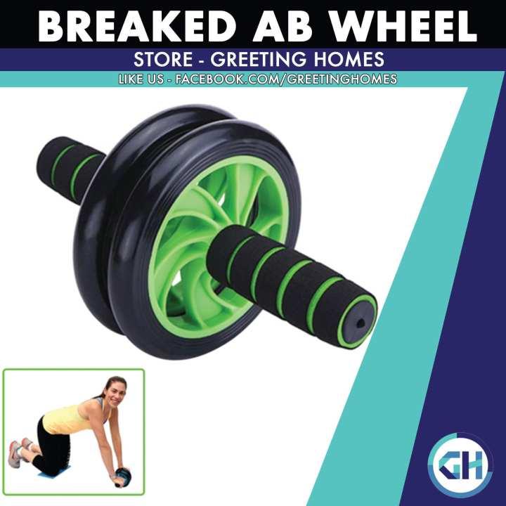 Breaked Ab Wheel - Get Fit