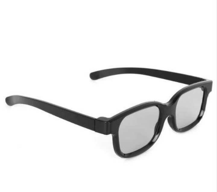 Black Color 3D Glass For TV