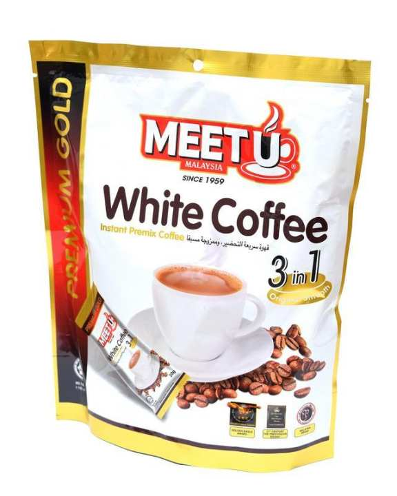 Premium Gold Black White Coffee Instant Premix coffee