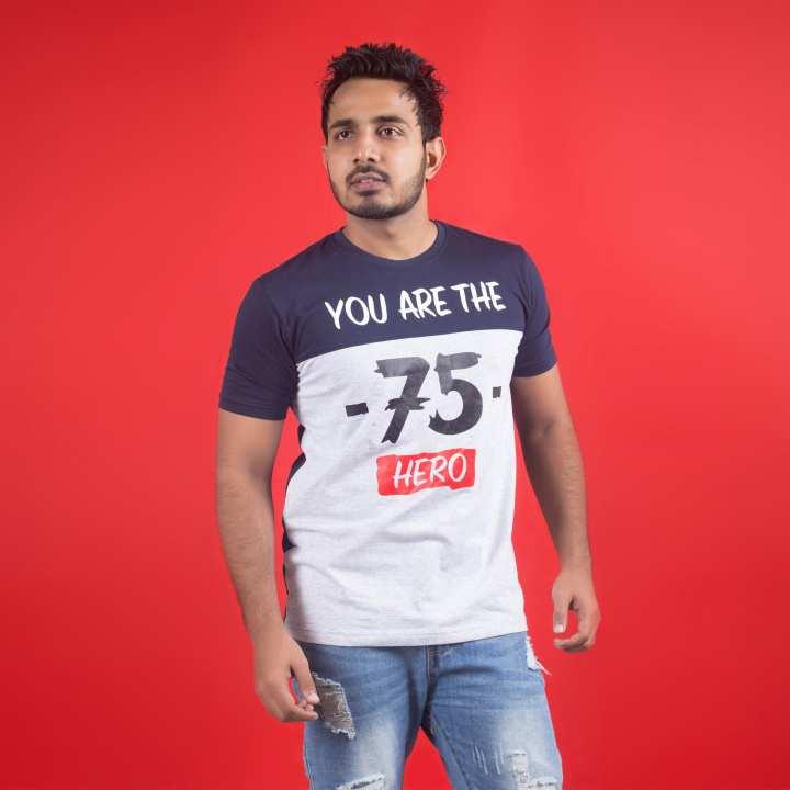 75 Design 100% Cotton Export Quality T-Shirt