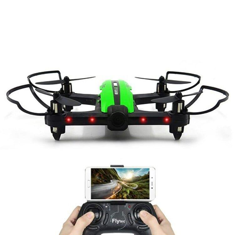 Zoom Tech Rc Quadcopter Drone - Black