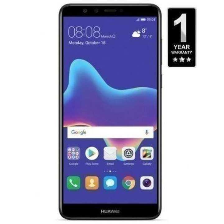 Huawei Y9 2018 - 3GB RAM - 32GB ROM  - Black