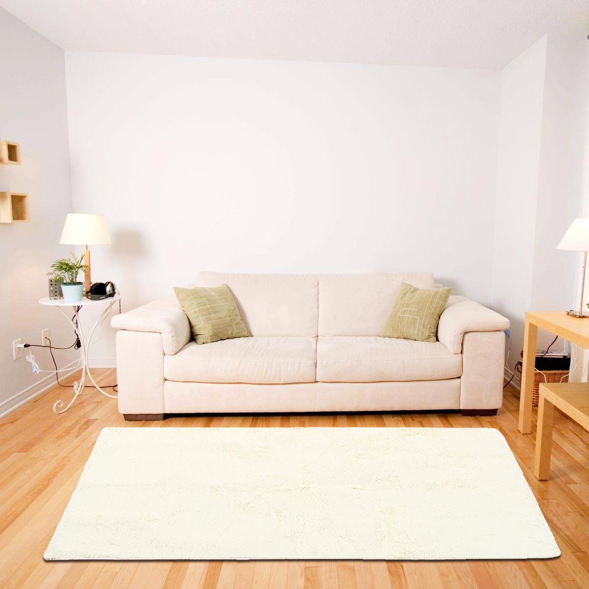 Shag Rug Shaggy Floor Confetti Carpet Anti-Slip Living room Mat All Size New