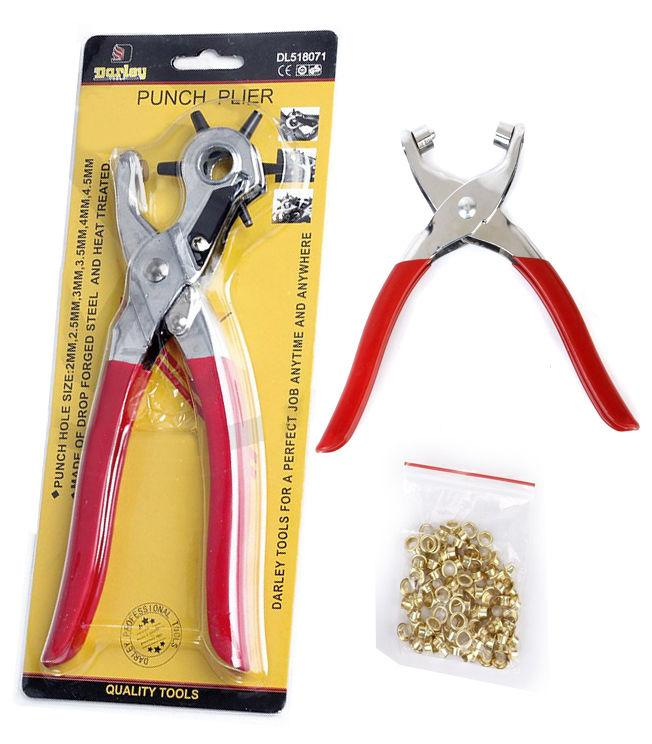 2 Pcs of JUN CHAO Hole Punch Plier