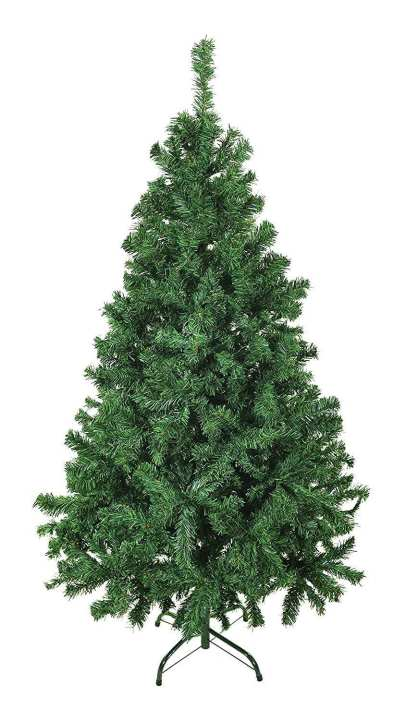 Classic Artificial Realistic Pine Christmas Tree Green- 1 Feet