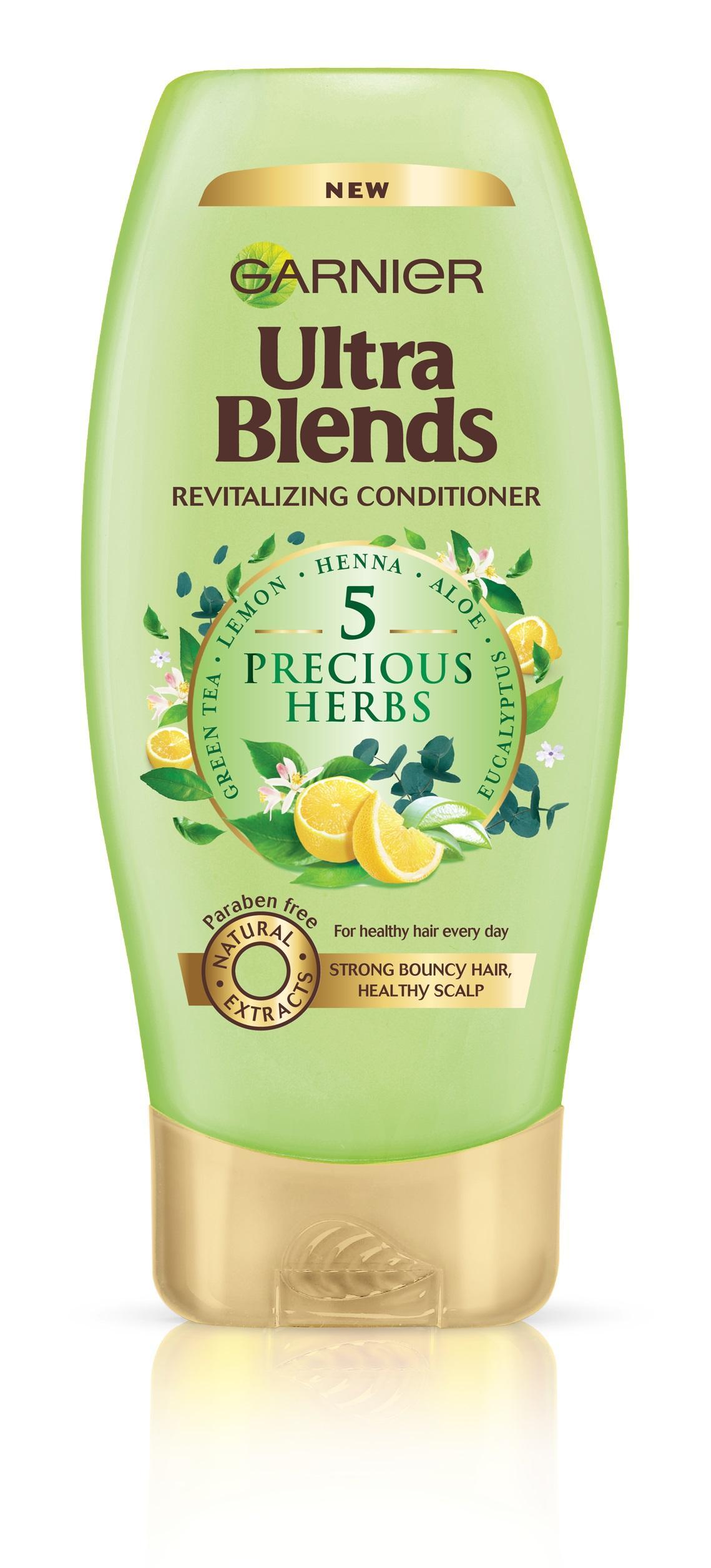 Garnier Ultra Blends 5 Precious Herbs, Conditioner 175ml