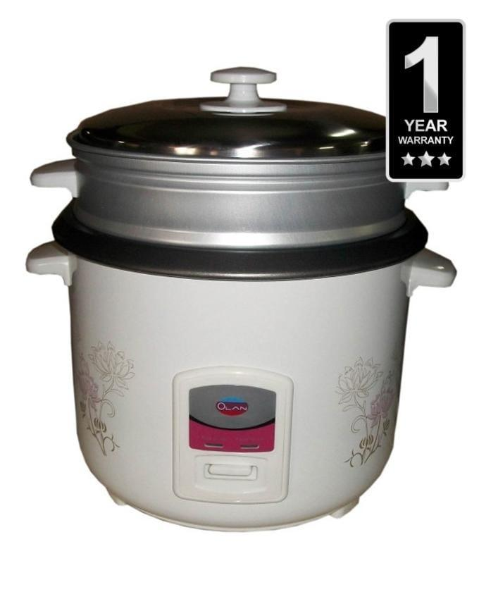 Olan - Rice Cooker 1.8l OLR180F -White