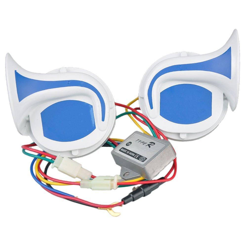 Car Electric 12V Air Snail Magic 18 Sounds Horn