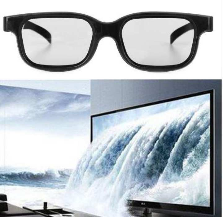 1 PC High Quality Polarized Passive 3D Glasses For TV Real 3D Cinemas