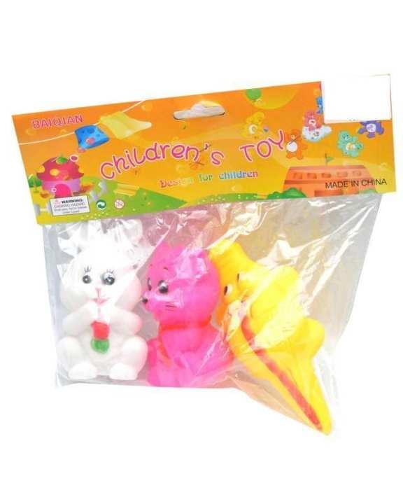 Cool Baby Children Squeezy Toys - 3 pcs - Multicolor