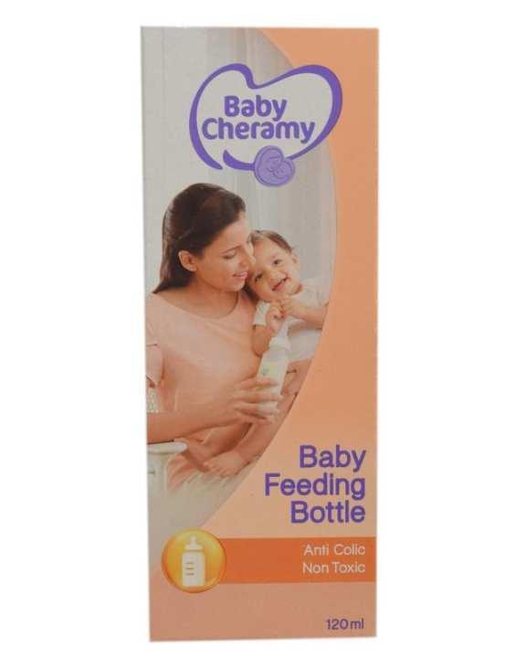 Baby Cheramy Baby Feeding 120ml - 120 ml - Yellow