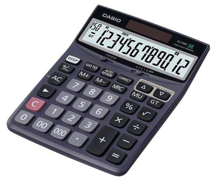 Casio Desktop - C & C Calculator DJ-120D
