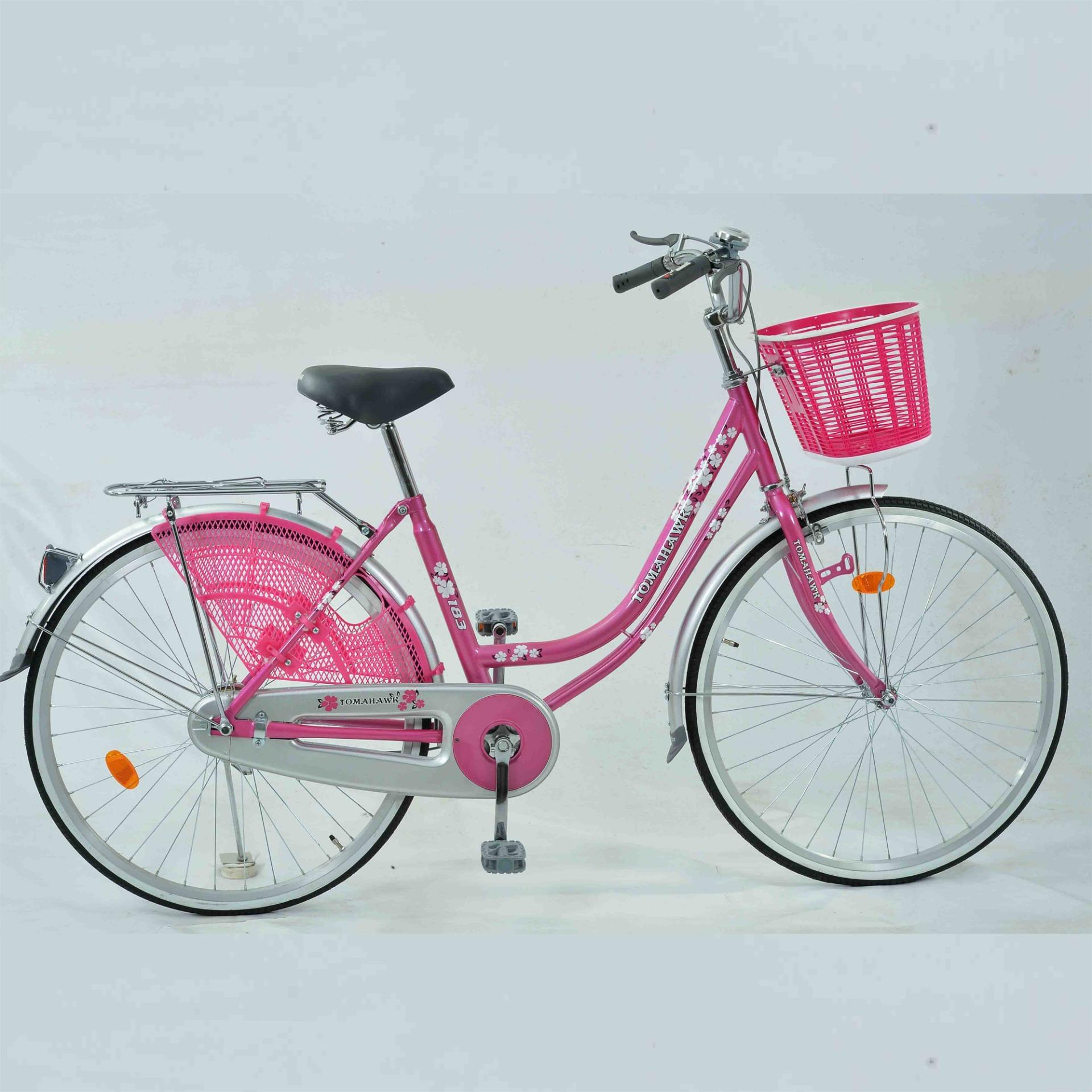 183 - Ladies Bicycle - Hot Pink - 20""