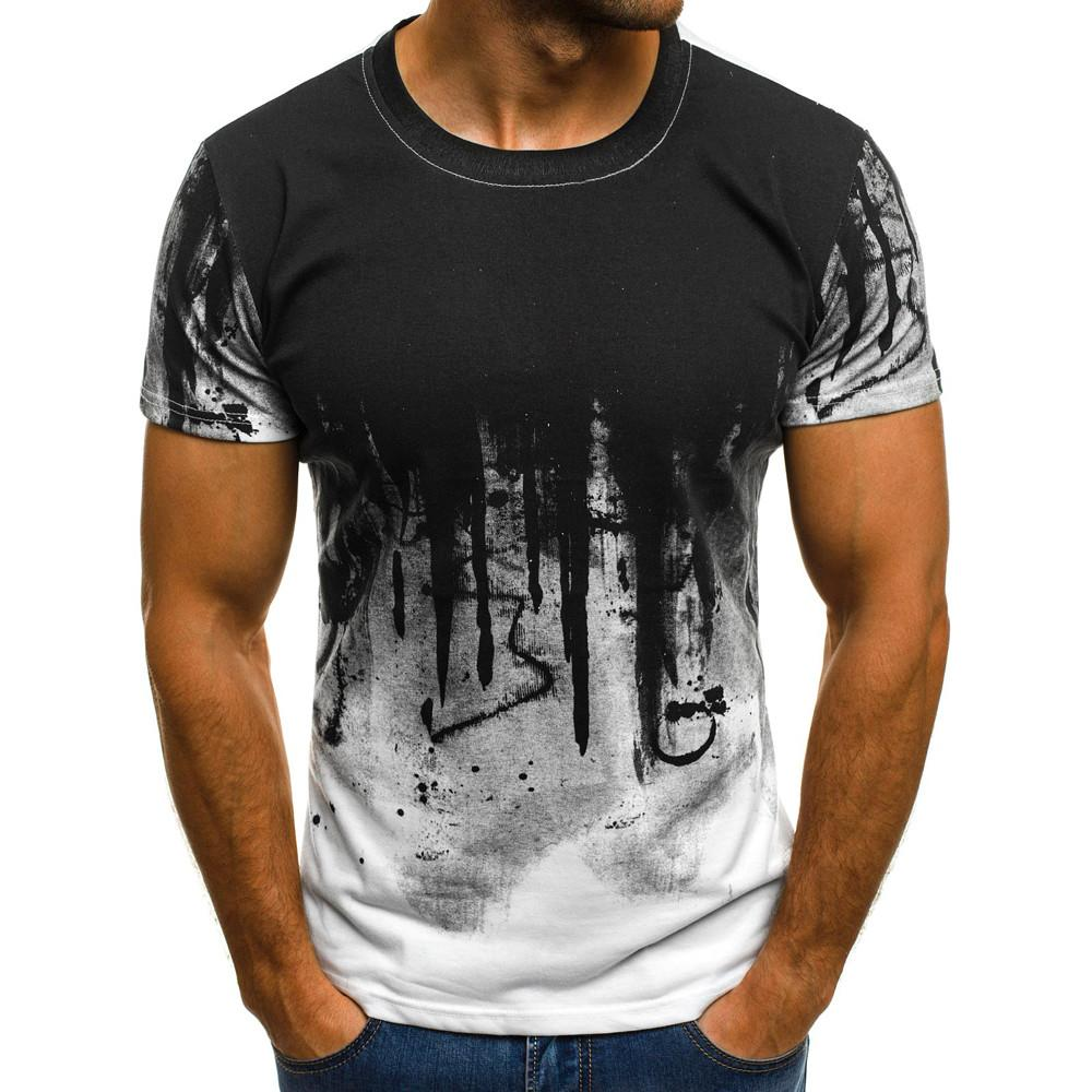 a29318f6 Men Tee Slim Fit Hooded Short Sleeve Muscle Casual Tops Blouse Shirts