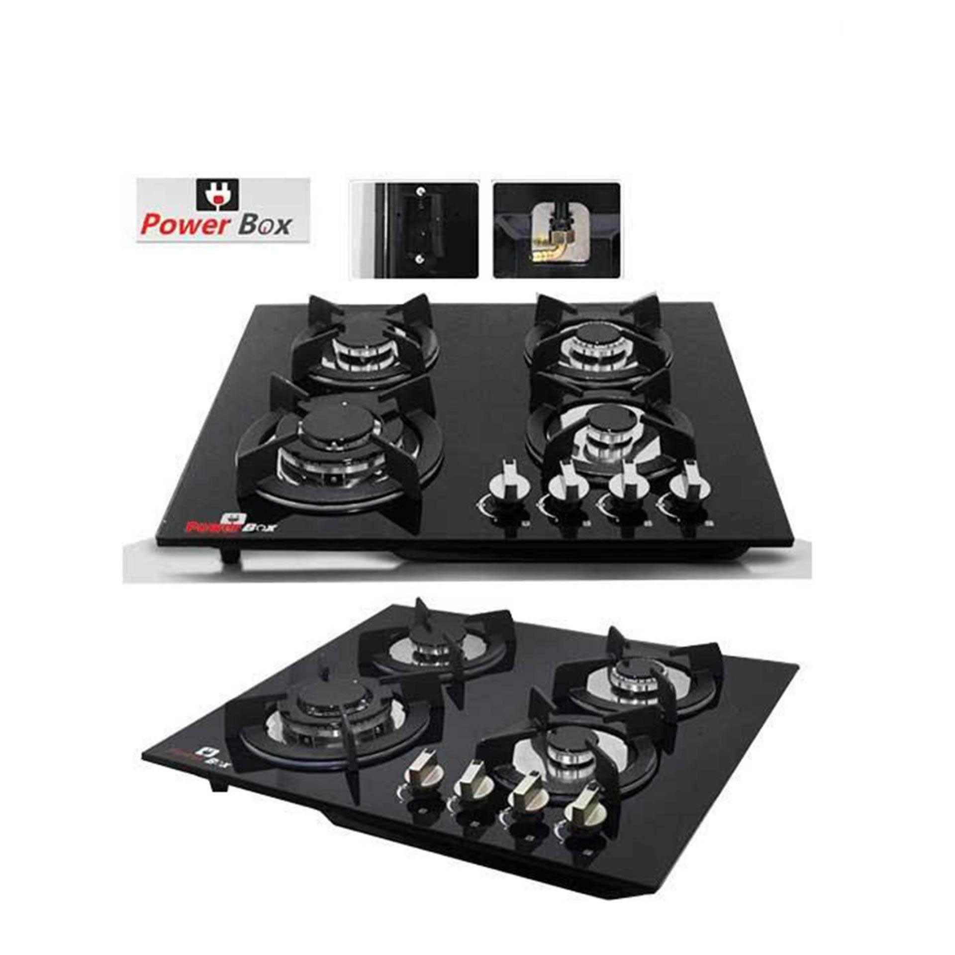 PowerBox Glass Top 4 Burner