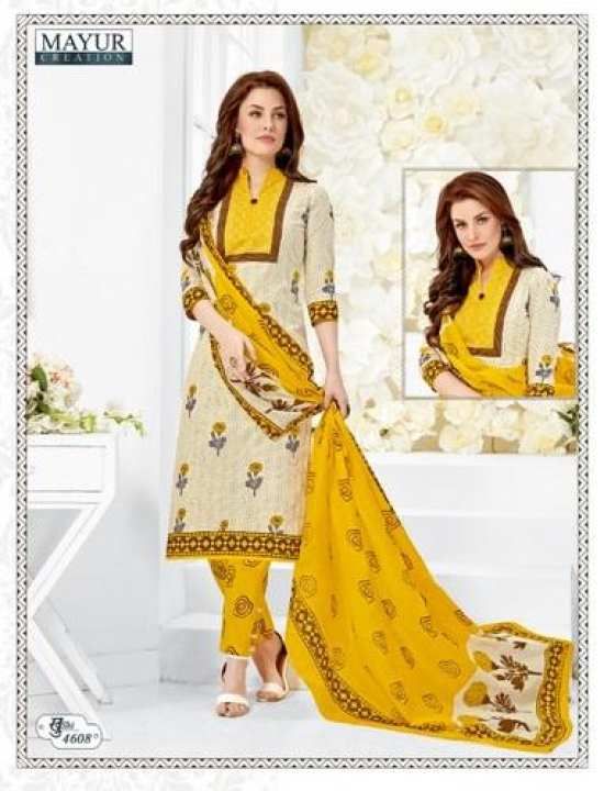 Unstitch Full Cotton Salwar Material myrk4608