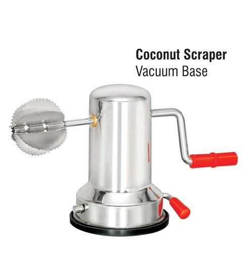 High Quality Stainless Steel Coconut Scraper, Coconut Grater, Coconut Shredder with Vacuum Base