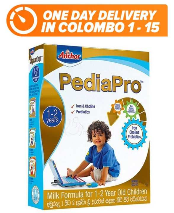 Anchor PediaPro - 1-2 Years - 400g [One-day-delivery in Colombo 1-15]