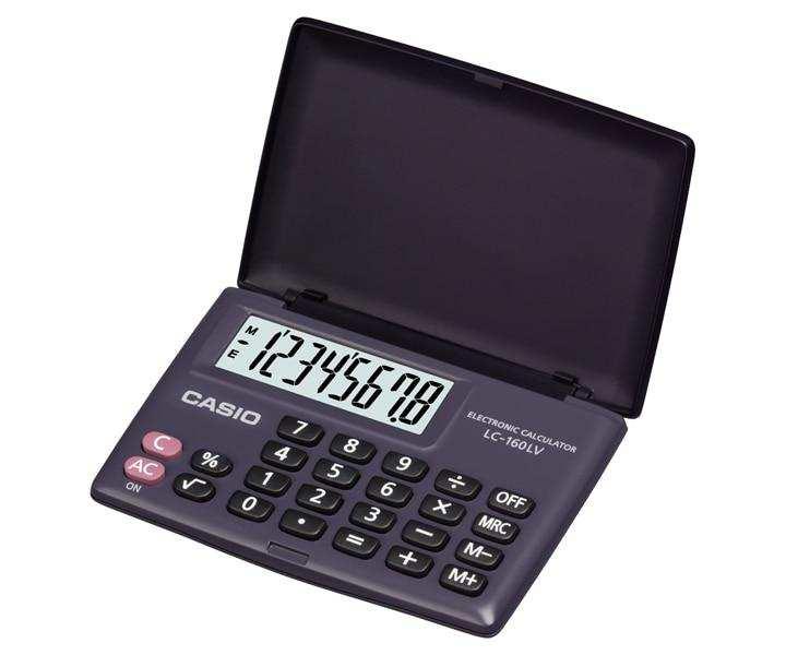 Casio Portable Calculator LC-160LV