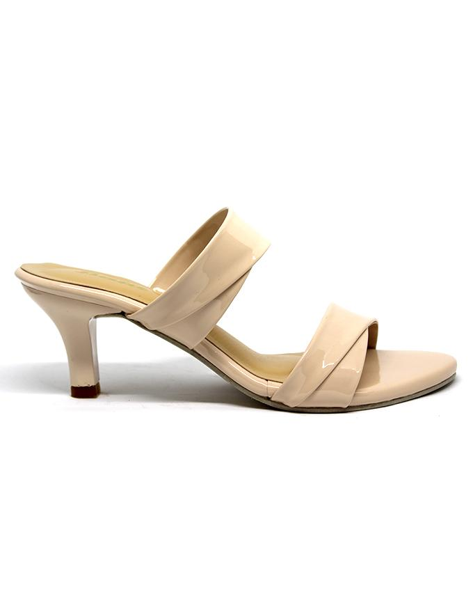 Bata Beige High Heel For Womens