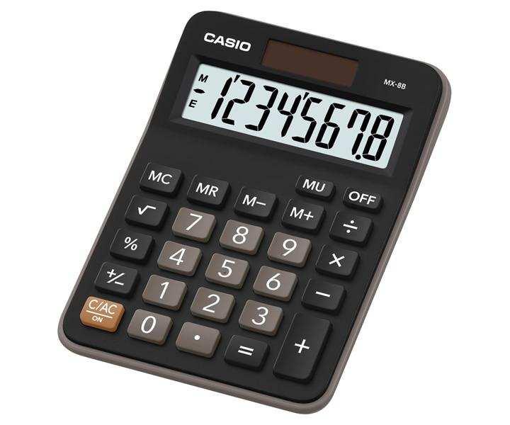 Casio Desktop Series Calculator MX-8B