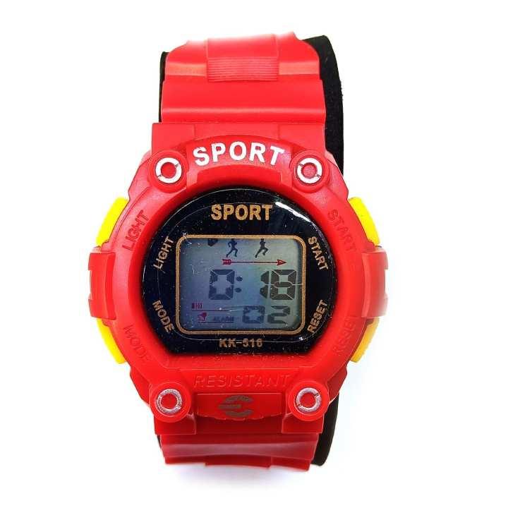 Kids Sport Watch - Red