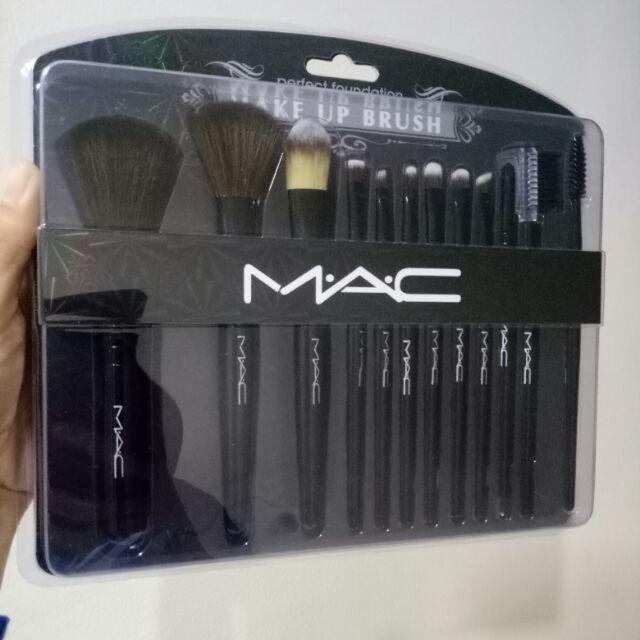 Mac Makeup Brush Set 12 Pieces