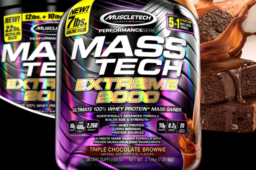 Muscletech Mass Tech Extreme 2000 7 lbs. (Triple Chocolate Brownie): Buy Sell Online @ Best Prices in SriLanka | Daraz.lk