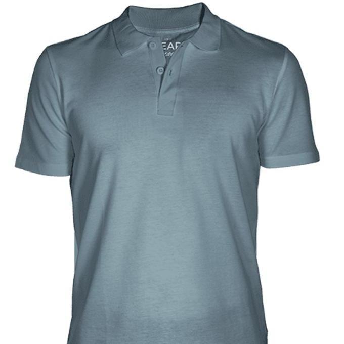 Bear Appeal Steel Gray Polo T-Shirt