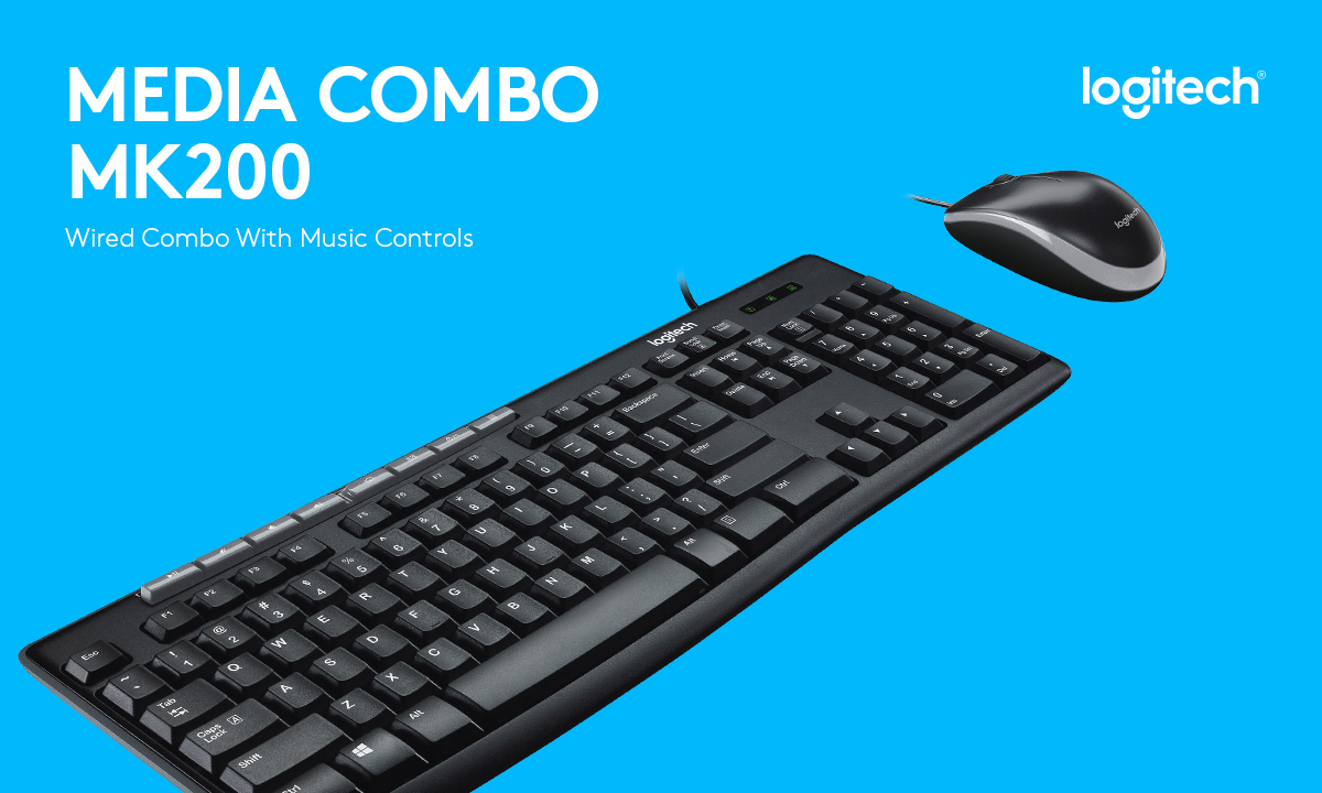 Logitech MK200 Original Keyboard and Mouse Combo: Buy Sell Online @ Best  Prices in SriLanka | Daraz.lk
