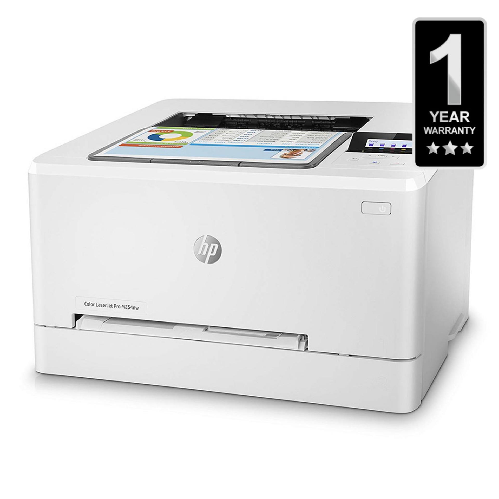 HP Color Laserjet Pro M254Nw Printer - White