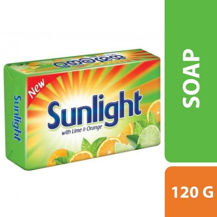 Sunlight  Soap With Lime & Orange 120g