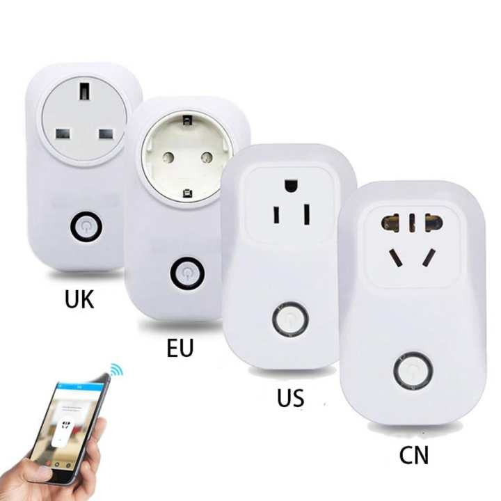 Sonoff S20 Smart Wi-Fi Remote Control Wireless Power Socket Outlet, Timing Switch - White (AU Plug)