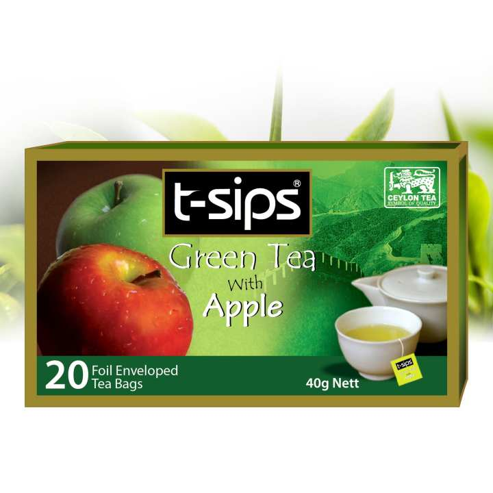 Green Tea with Apple 2g X 20 bags