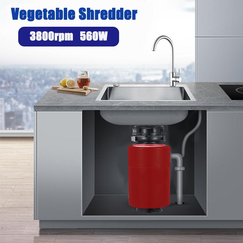 560w 220v Electric Food Grinder Air Switch Kitchen Sink Food Crushing Vegetable Shredder Garbage Disposal Buy Sell Online Best Prices In Srilanka Daraz Lk