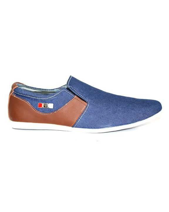 Bata Blue Casual Shoes for Mens