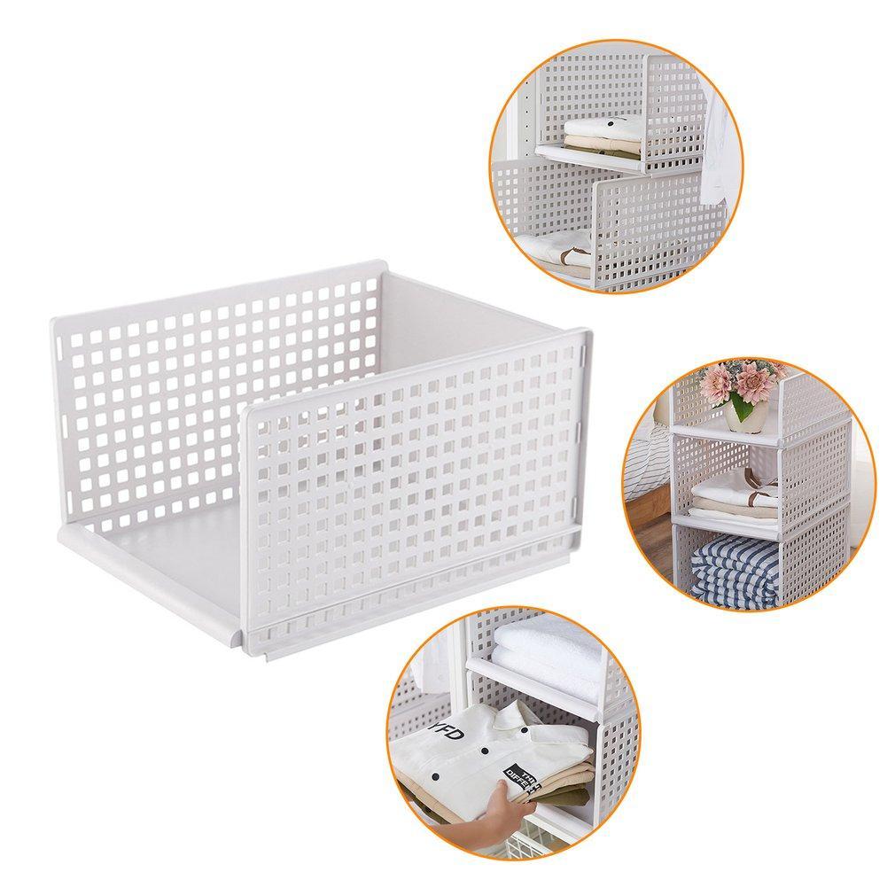 Assembled Storage Basket Japanese Wardrobe Organizing Box Wardrobe Storage//=