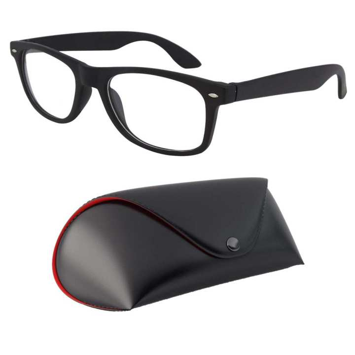 Clear Lenses UV400 Sunglasses-Unisex