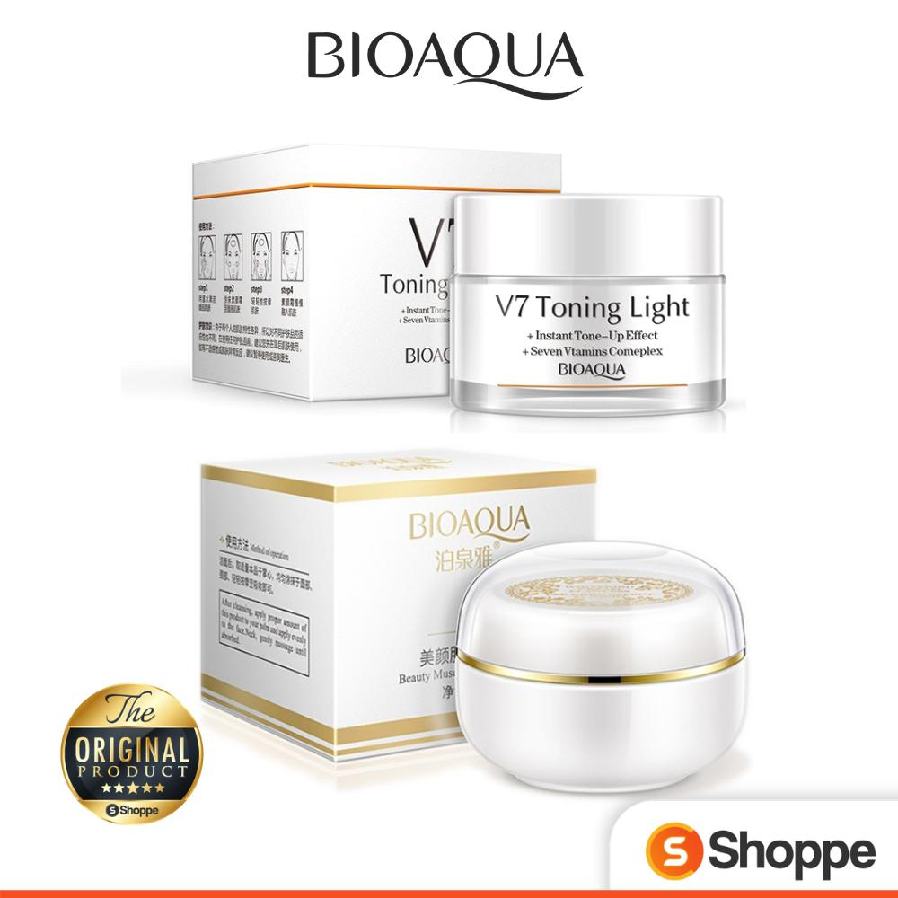 BIOAQUA Whitening 2 in 1 Bundle Day & Night Cream