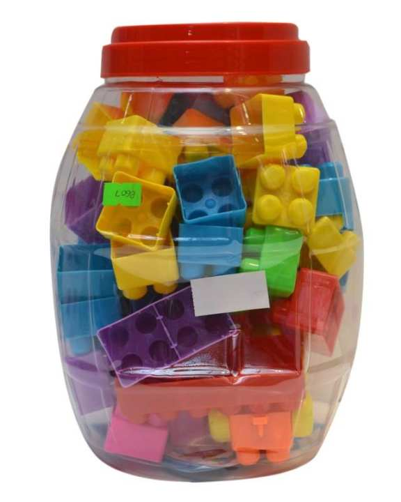 Toy Library Building Block set - Multi Color