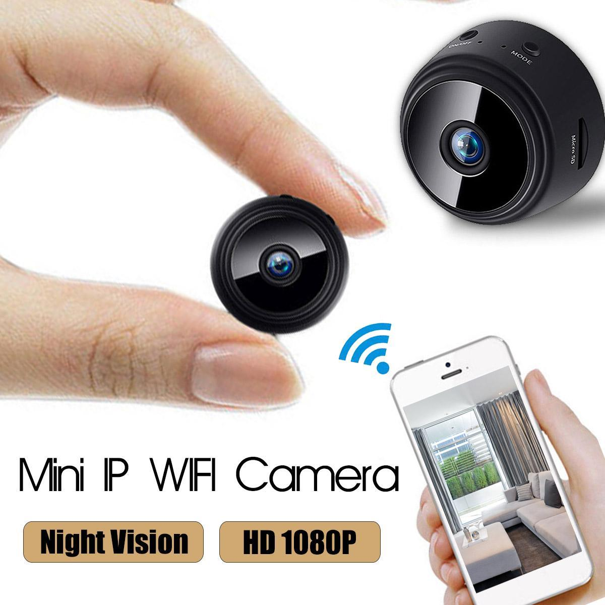HD 1080P Mini WIFI IP Hidden Camera Motion Detection Wireless Security Cam DVR