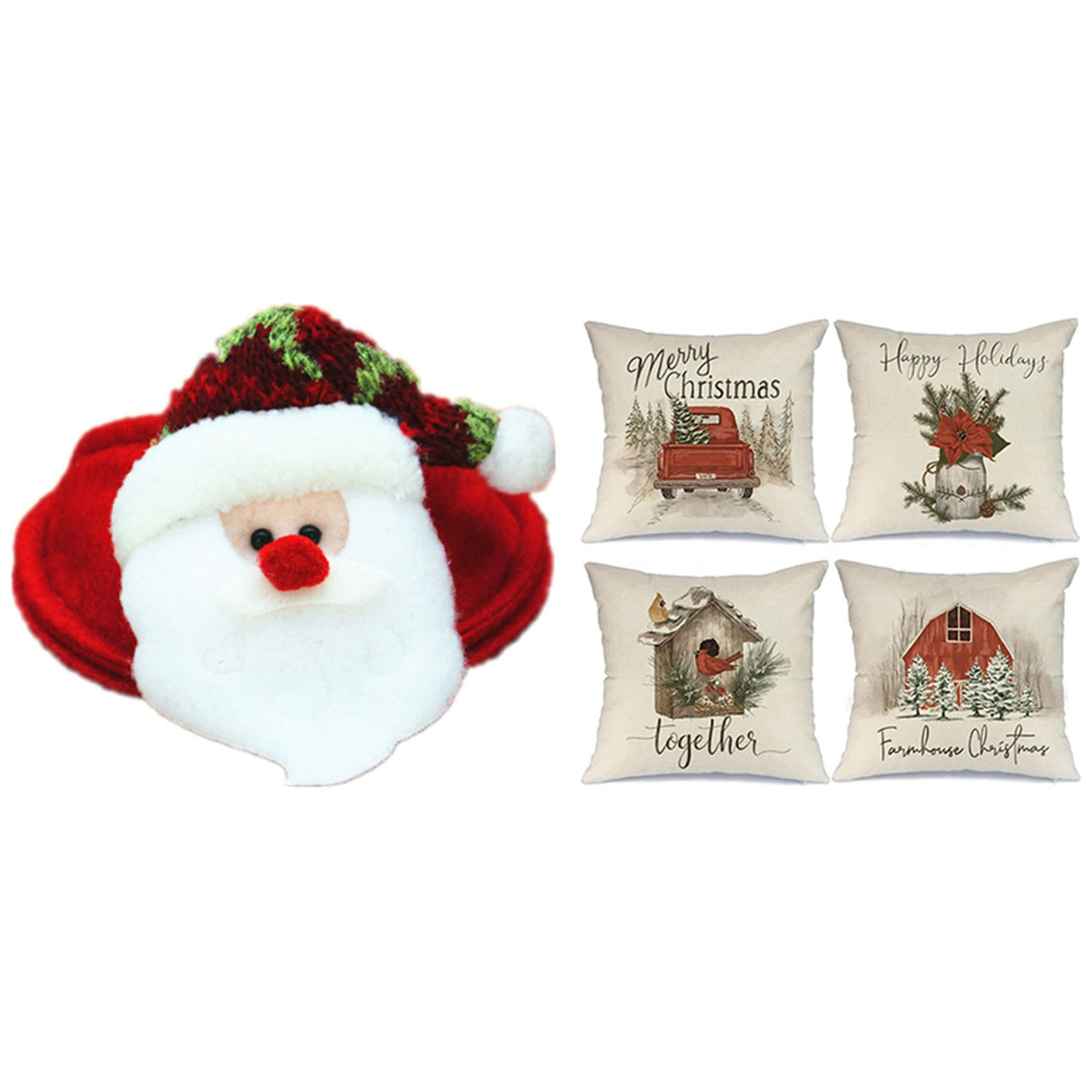 Coaster Christmas 2021 Flyeer 2021 Christmas Coasters Christmas Decorations Table Mats Christmas Pillow Covers Red Barn Truck Bird Farmhouse Buy Sell Online Best Prices In Srilanka Daraz Lk