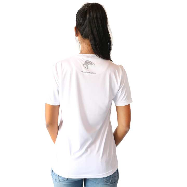 DR005 Dilango Ladies WHITE T-SHIRT (Cartoon)