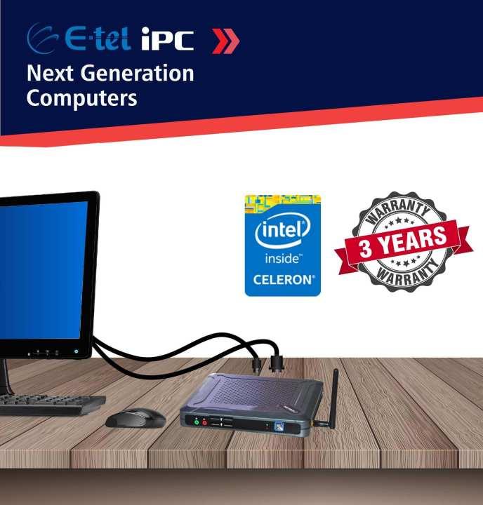 E-tel iPC Celeron Mini Desktop Computer