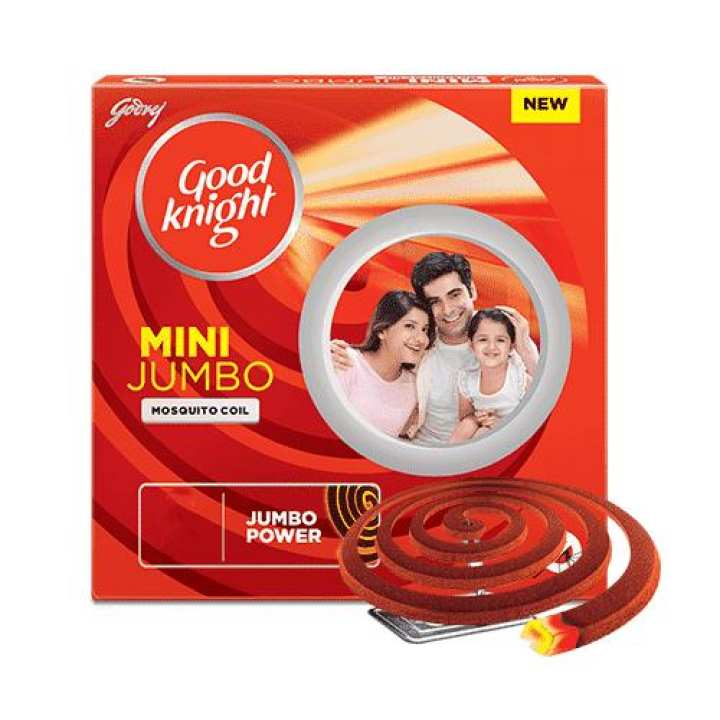 Good Knight Coil Jumbo Power Red 12 Hrs - Red