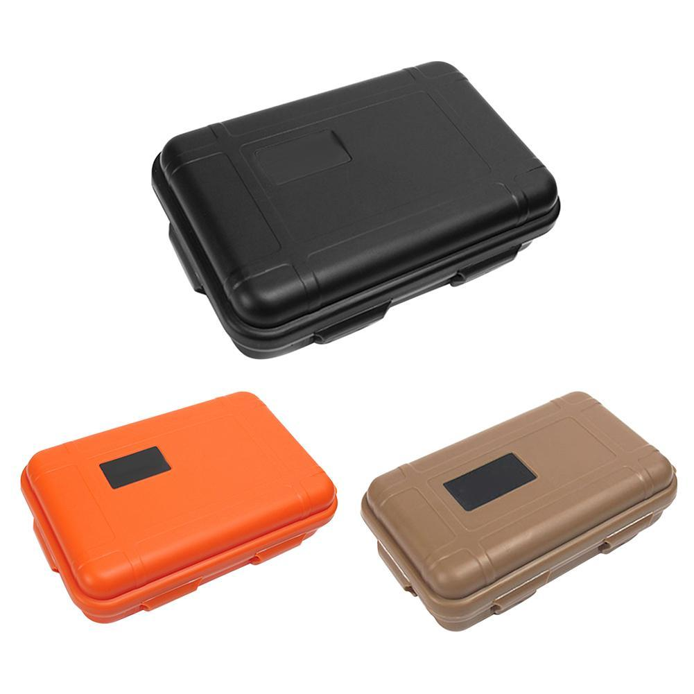 56d5fa89eba8 Outdoor Shockproof Waterproof Boxes Survival Airtight Tool Sealed Container