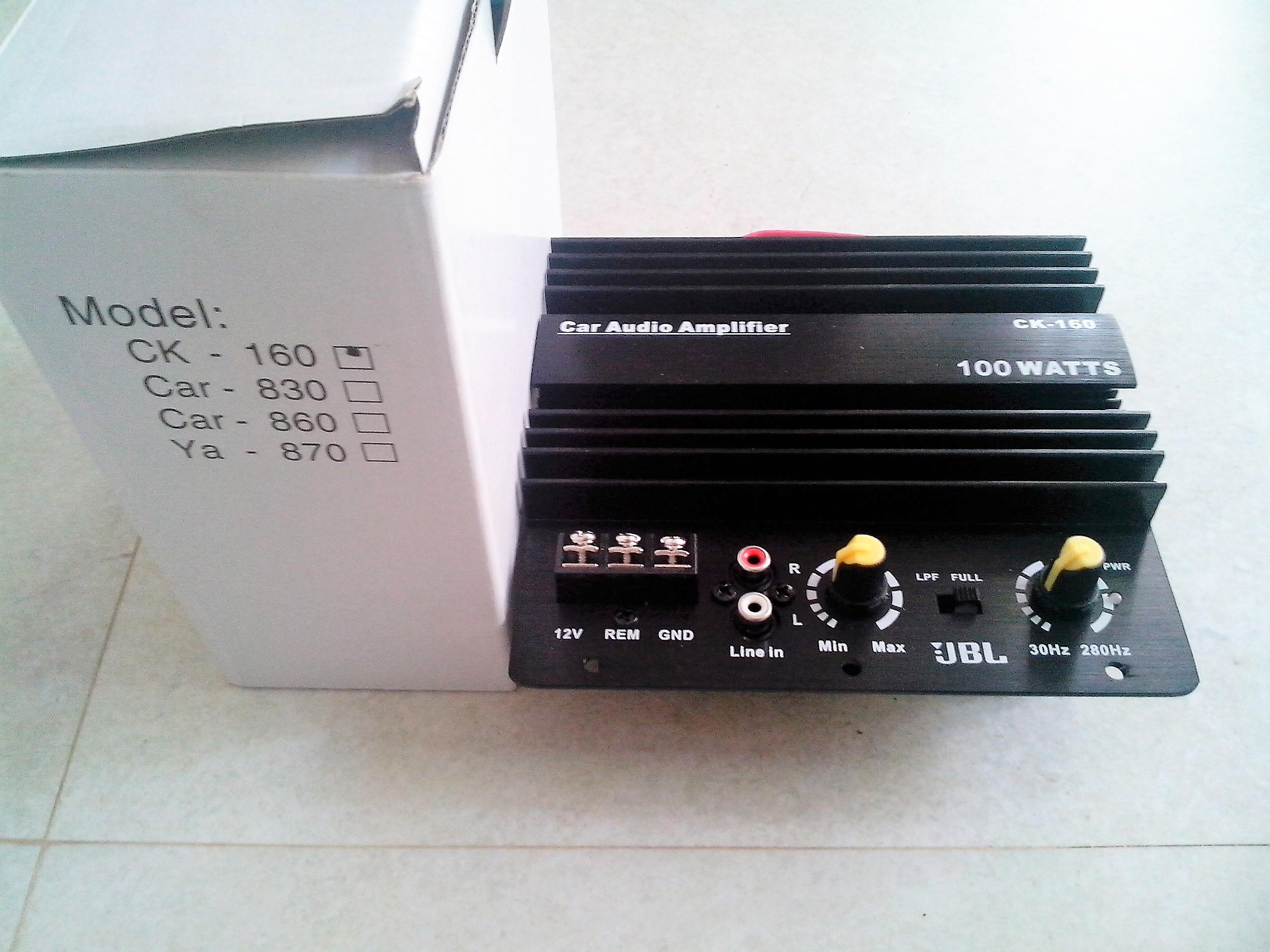 Sub woofer Amplifier