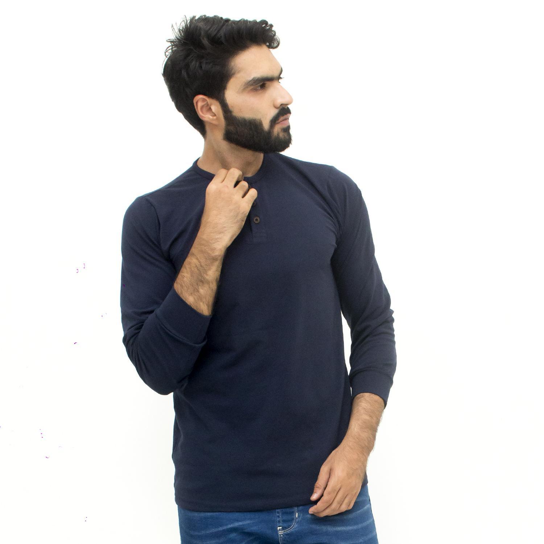 Toro Long Sleeve 2 BTN Navy Blue T-shirt