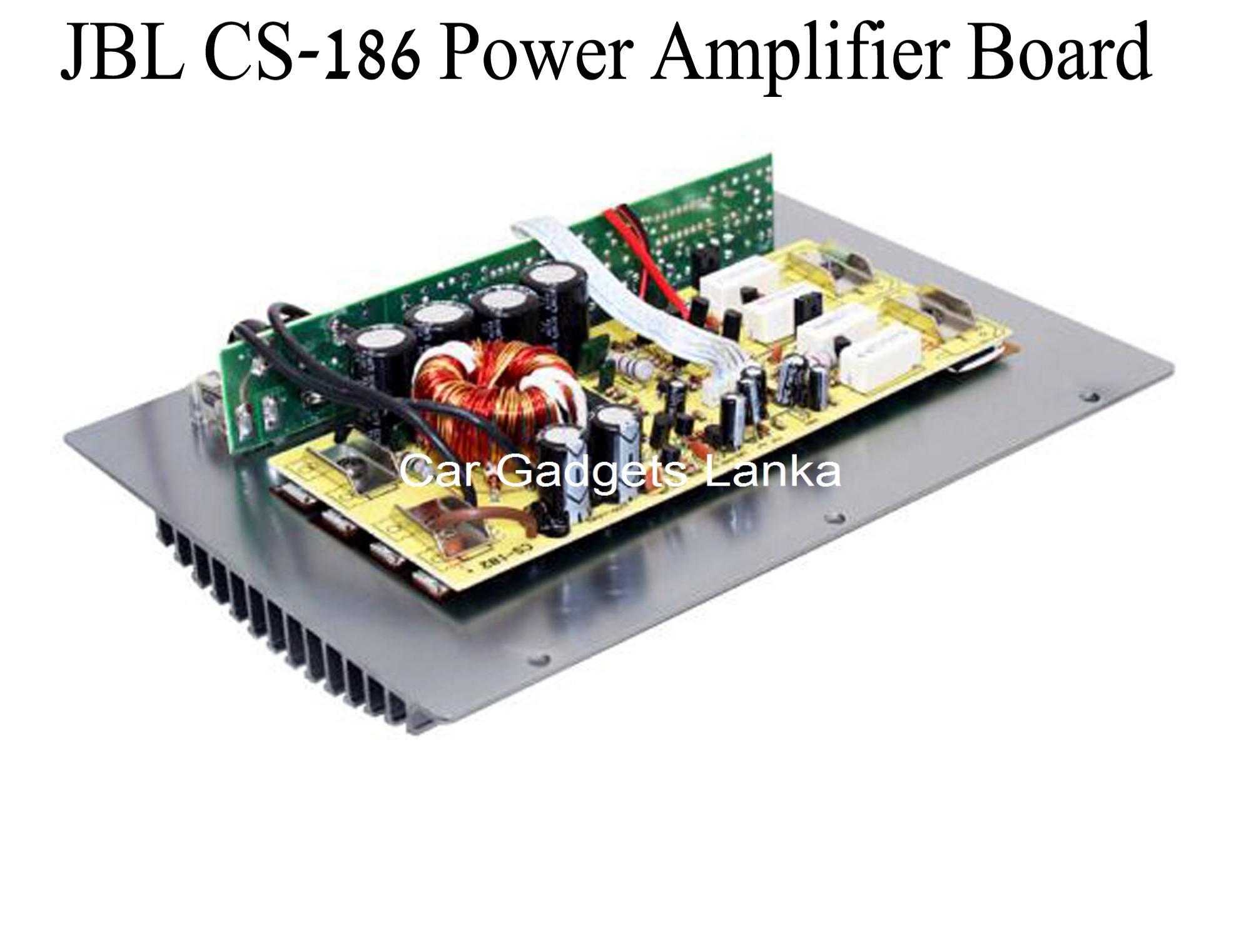 Car Audio Amplifier Board JBL CS-186 High Power Subwoofer 12V Circuit Module